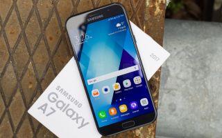 Обзор Samsung Galaxy A7 2017: характеристики, цена