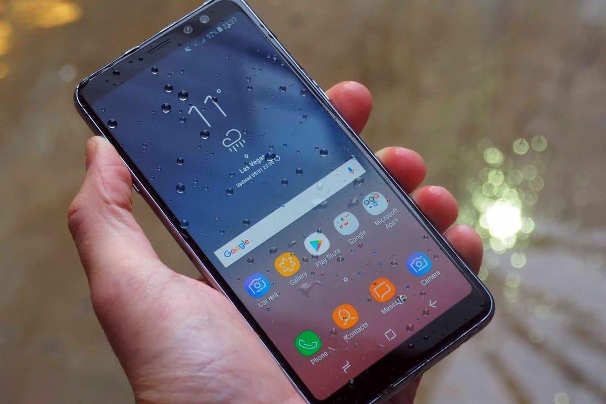 Samsung Galaxy A8+